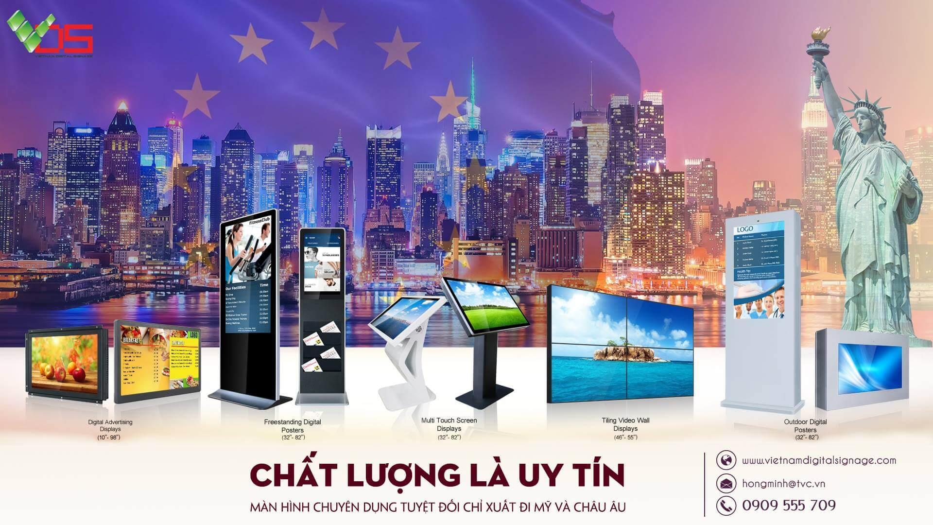 [TVC-VDS] Hang xuat Chau Au - Chat luong la uy tin