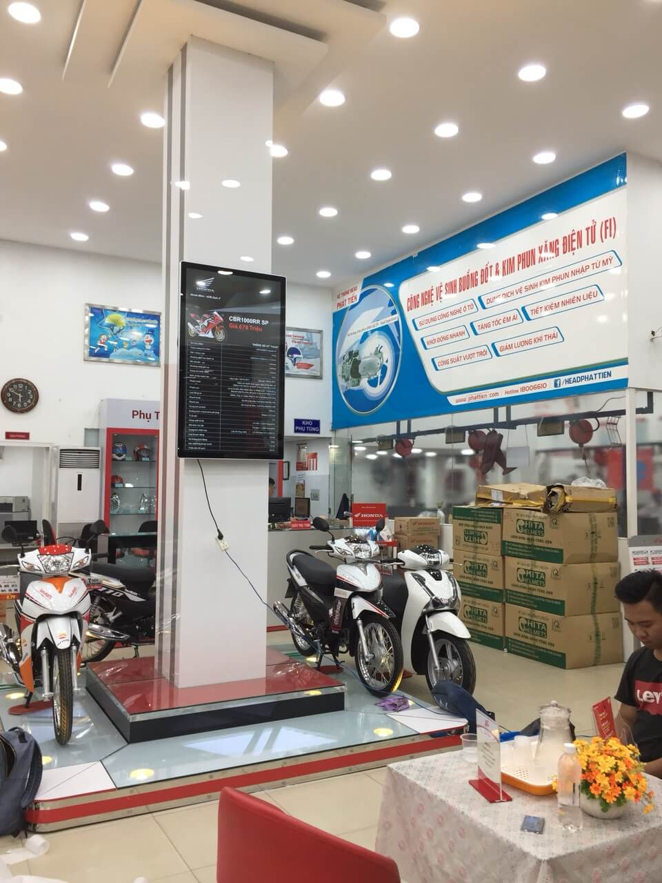 MHQC dung Honda Phat Tien 9